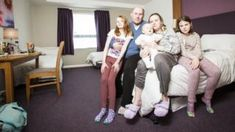 "Homeless family lived in Bristol hotel for three years -  Homeless family lived in Bristol hotel for three years                                                                                                12 April 2018                                    Image copyright                  SWNSImage caption                                      The council deemed the Burns family ""intentionally homeless"" after they refused temporary accommodation                                A homeless…"