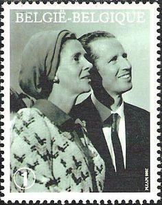 belgian stamps Queen Fabiola, 80..
