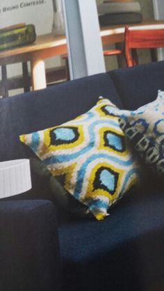Ogee design cushion