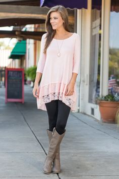 """""""You Have My Attention Top, Pink"""" We hope we have your full attention! Because you are going to want to see this top! #newarrivals #shopthemint"""