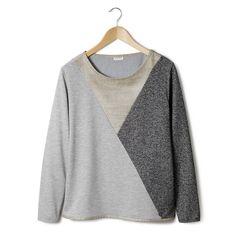 Image Bicolor sweater met lange mouwen NUMPH