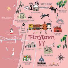 ELLEN BYRNE ILLUSTRATION: TARRYTOWN