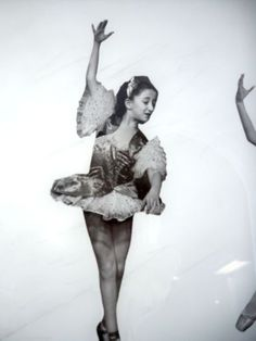 Vintage-Famous-Ballerina-NYC-Dance-1950s-Framed-Photo-Collage-Black-and-White