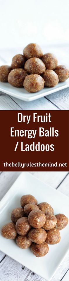 Satisfy your sweet cravings with these healthy, delicious, no cook Dry Fruit Energy Balls or Laddoos. These naturally sweetened energy balls are only loaded with the goodness of whole foods like nuts and dates. Try them out!!! |https://www.thebellyrulesthemind.net @Bellyrulesdmind