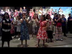 We worship you (signing choir kids camp) - YouTube