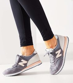 online store f02a5 7deee How French Women Really Feel About Activewear via  WhoWhatWear New Balance  Sneakers, Tenis New