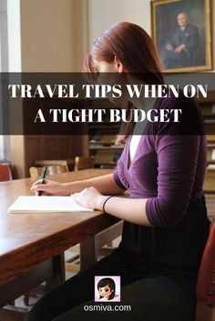 #TravelTips. #Travel Tips When On A Tight Budget. Budget Travel. #BudgetTravelTips. How to Save for Travel.