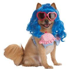 Katy Perry Cupcake Dog Costume