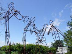 music sculpture