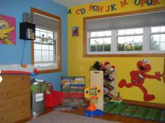 This Is An Idea For A Sesame Street Room Makeover Boy S That Came