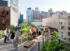 High Line NYC Park- Super cool!