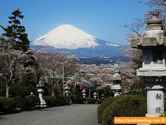 Great View of Mount Fuji from Heiwa Peace Park in Gotemba