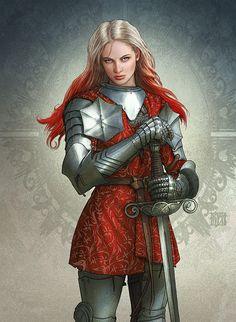 Realms of Mayhem - knight by Kerem Beyit