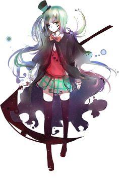 READ ME! hey people^ so I am working on a book on Wattpad. It's a creepypasta fanfic called Lizzy the reaper (creepypasta fanfic) please give it a reading^ Anime Oc, Dark Anime, Manga Anime, Kawaii Anime Girl, Loli Kawaii, Anime Girl Dress, Anime Girls, Anime Group, Anime Weapons