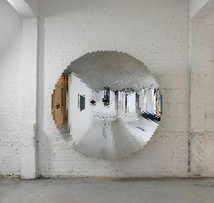 Espejo escultórico #arte #decoracion #art #deco