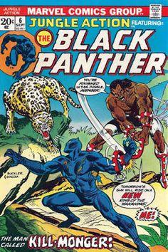 Jungle Action #6, Black Panther vs Killmonger