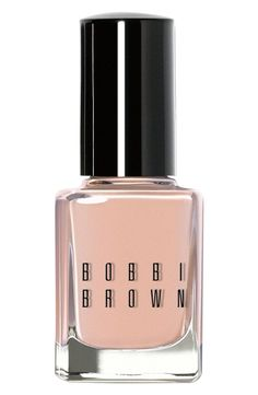 Bobbi Brown Nail Polish in Nude #manicure