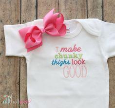 https://www.etsy.com/listing/181350350/baby-girls-funny-bodysuit-and-bow-baby?ref=listing-10  Baby Girls Funny Bodysuit and Bow  Baby by AllThatSassBoutique, $21.00