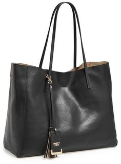 Nordstrom POVERTY FLATS by rian 'Colorful' Faux Leather Shopper on shopstyle.com