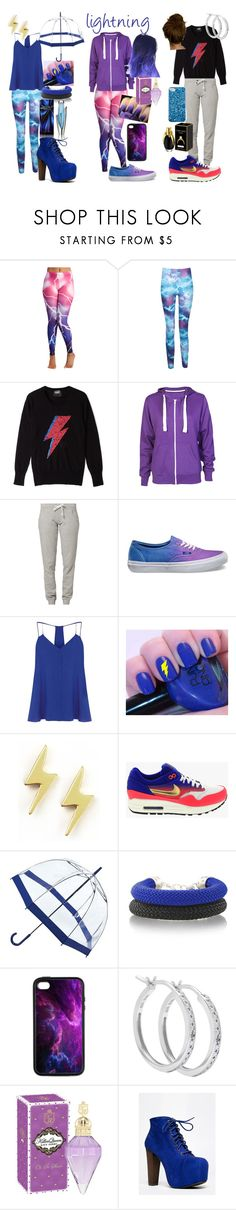 """""""lightning"""" by laurajessica ❤ liked on Polyvore featuring Boohoo, Markus Lupfer, Russell Athletic, Vans, Warehouse, Dogeared, NIKE, Fulton, Speed Limit 98 and Marc by Marc Jacobs"""