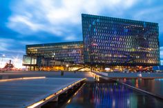 Harpa Blue Hour by Christian Gehrig on 500px