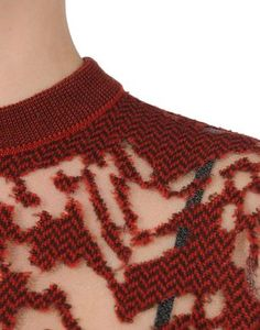 Maglione pullover a punto zigzag Madewell Knitwear Fashion, Knit Fashion, Textiles, Textile Manipulation, After Earth, Textile Texture, Fashion Details, Fashion Design, Knitting Designs