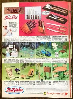 1984 True Value Hardware Stores 8-Page Tear-Out Booklet Christmas PRINT AD | eBay True Value Hardware, Christmas Catalogs, Print Ads, Booklet, Print Advertising