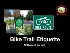 Bike Trail Etiquette  & Weight Loss JOAN DIET BARS Bike Trail Etiquette & Weight Loss Bicycle Trail Etiquette tutorial video in this video we share how to get the best weight loss benefits of biking in a safe way.