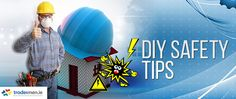 DIY Safety Tips - DIY can involve the use of power tools, working at heights, working in dusty or mouldy environments, lifting heavy objects etc. Diy Cans, Safety Tips, Home Improvement, Blog, Home Repair, Home Improvements, Interior Decorating, Home Improvement Projects, Home Remodeling