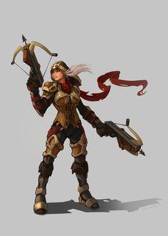 ArtStation - Demon Hunter , Valentin [ ValdoS ]