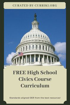 It is critical for young people to get a solid understanding the core of democracy-exercising the civic duty to vote and share your voice. You can start emphasizing this responsibility to students through the resources we've pulled together in our new comprehensive High School Civics Collection! We've pulled the BEST FREE resources from TED-Ed, Khan Academy, Bill of Rights Institute, National Constitution Center, iCivics, Crash Course, Street Law, and the Library of Congress.