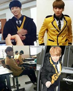 Wanna be in same school with Jungkook ❤ -