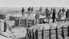 The trenches at Petersburg, near Richmond, where Confederate troops (including Jeremiah) defended the city for 10 months. Historical Romance, Historical Fiction, Historical Photos, American Civil War, American History, Siege Of Petersburg, Civil War Photos, History Facts, Military History