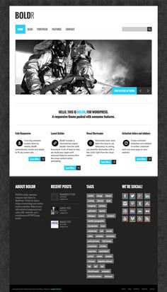 20 Awesome Free Responsive WordPress Themes 2013 Edition