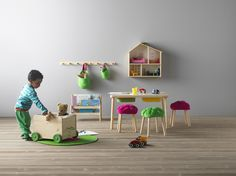 Ikea's Storage Solutions for Kids http://petitandsmall.com/childrens-storage-ikea-catalogue-2017/