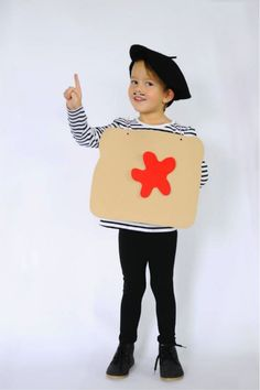 DIY French Toast Costume - Last Second Costume by Small Fry