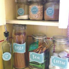 Kitchen Printable Labels {Kitchen Printables}