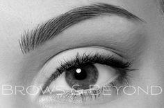Feather / Hair Stroke Eyebrow Tattoo