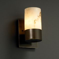 Alabster Wall Sconces, Alabster Style Wall Light Fixtures