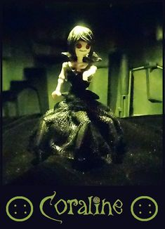 """Inspiriert von Neil Gaimans Geschichte """"Coraline"""", die für mich zu den grusligsten überhaupt gehört. Playmobil"""