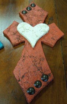 handmade cross.