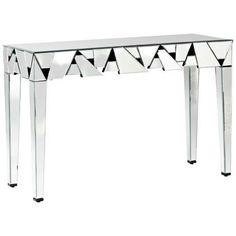 Stella 2-Drawer Mirror Sofa Table - #W8172   LampsPlus.com