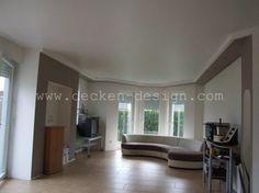Deckendesign wohnzimmer ~ Spanndecken im wohnzimmer decken design