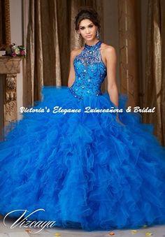 2bcf3dece93 Quince Royale Shimmer Organza   Lace Ball Gown 41293 – Victoria s Elegance  Quinceañera   Bridal