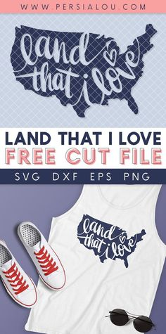 Land That I Love Free SVG Cut File - Persia Lou Love Is Free, My Love, Cricut Tutorials, Cricut Ideas, Vinyl Crafts, Vinyl Projects, Scan N Cut Projects, Mini Iron, Designer Friends
