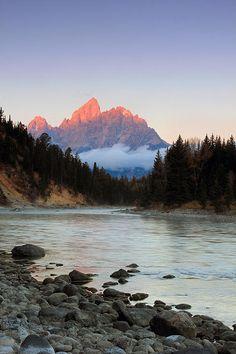 First Light On The Grand Teton