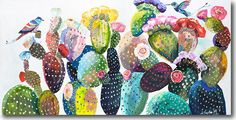 Starla Michelle Halfmann | cactus print