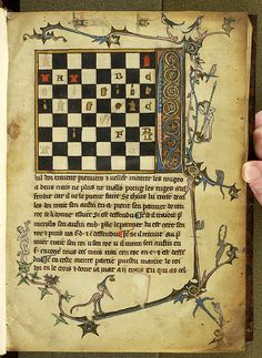 Sports and Games: Chess | Bonus socius | France | ca. 1300 | The Morgan Library & Museum