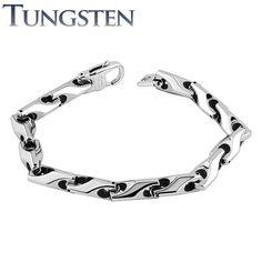 Bracelet homme tungstène chaines