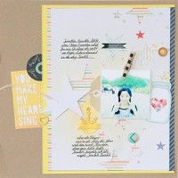You Make My Heart Sing by Michiko.K from our Scrapbooking Gallery originally submitted 05/05/13 at 09:11 AM